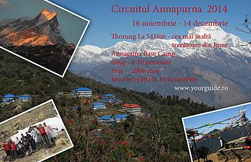 Circuitul Annapurna 2014