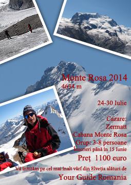 Monte Rosa 2014